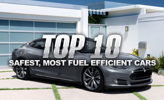 Top 10 Safest Most Fuel Efficient Cars