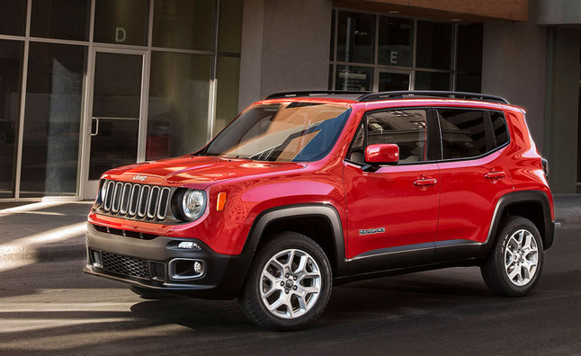 Jeep renegade 2015 colors