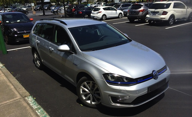 It Looks Like Volkswagen Is Getting Ready To Release A Wagon Version Of The Plug In Hybrid Golf Gte And Might Even Be Sold U S