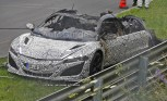 2016 Acura NSX Burns to the Ground on the Nurburgring
