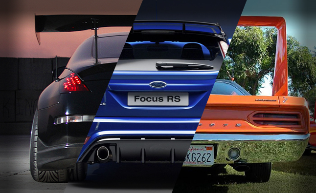 Top 10 Production Cars With Outrageous Spoilers Autoguide Com News