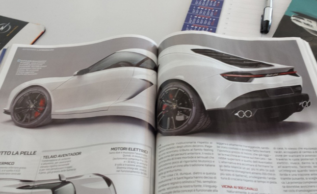 Lamborghini Asterion Hybrid Revealed In New Photos Autoguide Com News