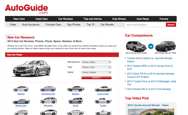 Most Researched Cars Of The Week September 7 13 Autoguide Com News