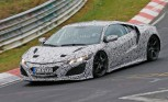 NSX Spied Testing, Now with 100 Percent Less Fire