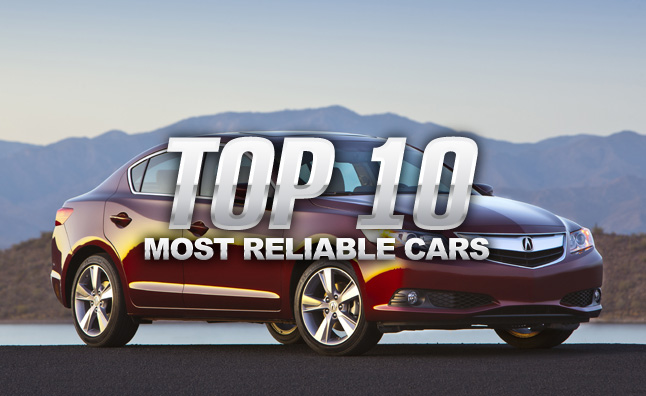 Top 10 most reliable cars of 2014 autoguide news top 10 most reliable cars of 2014 sciox Choice Image
