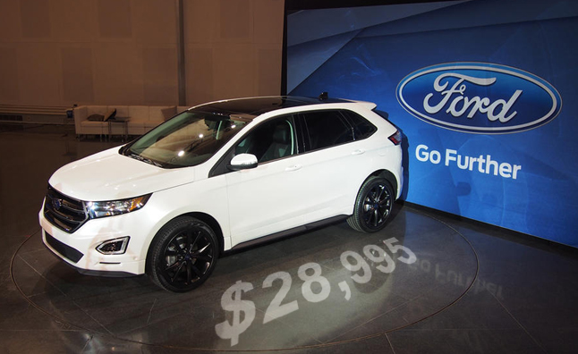 The Ford Edge Crossover Is Getting Totally Redesigned For  It Will Ride Atop A New Architecture Offer New Powertrains And Of Course Come With New