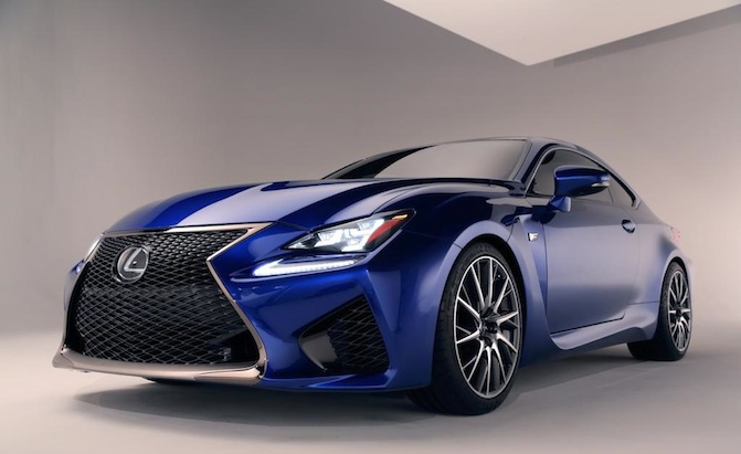 Lexus RC Coupe Priced From $43,715 » AutoGuide.com News
