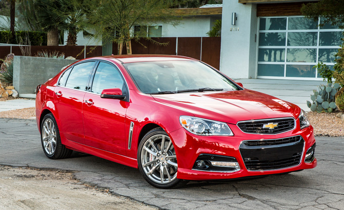 Chevrolet SS Successor Could be Based on Impala » AutoGuide.com News