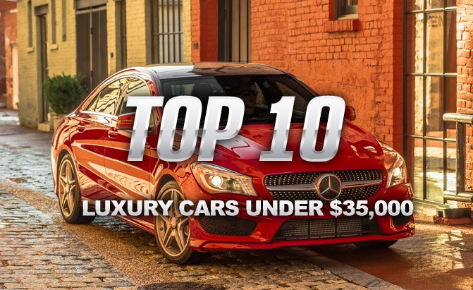 Top 10 Luxury Cars Under 35 000 Autoguide Com News