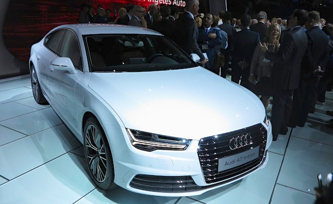 Audi A Htron Proves HydrogenPowered Cars Can Look Good - Is audi a good car