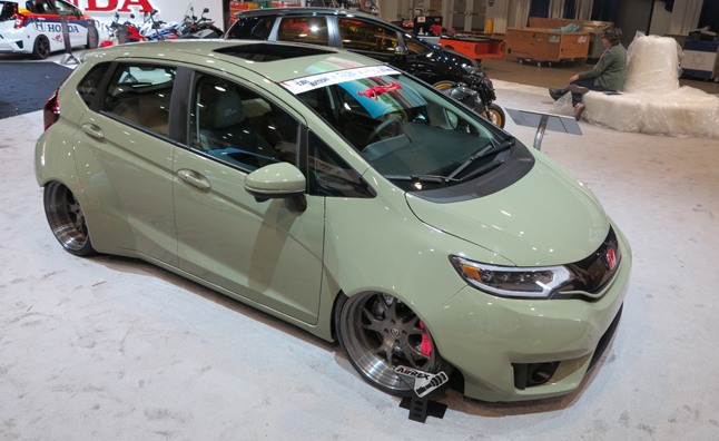Honda Fit Goes From Mild To Wild At 2014 Sema Show Autoguide Com News
