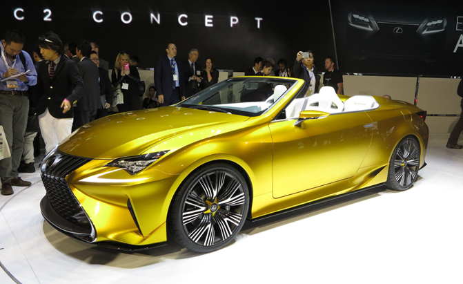Despite Revealing The Lf C2 Convertible Concept At This Week S La Auto Show Lexus Will Reportedly Not Offer A Version Of Rc