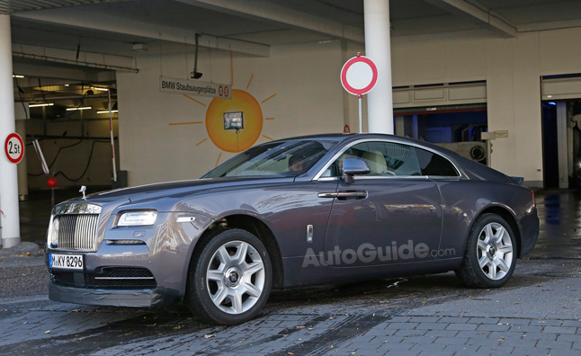 Rolls Royce Wraith Spied Testing In Sportier Form Autoguide Com News