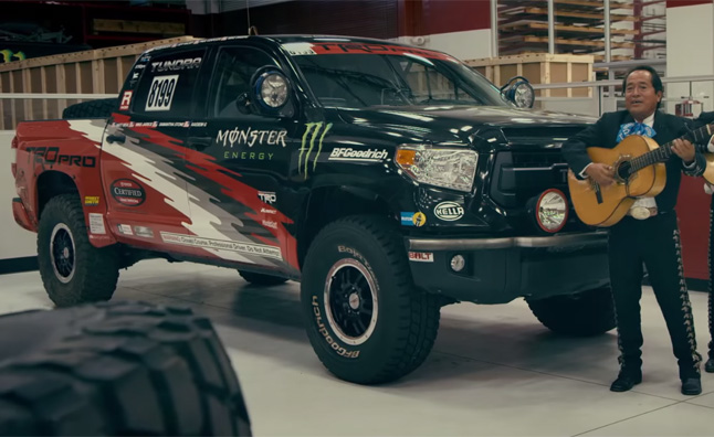 Watch Toyota Turn The Tundra Into A Baja Race Truck Autoguide Com News