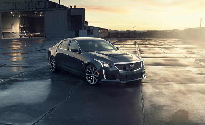 2016 Cadillac CTS-V Rips to a 200 MPH Top Speed » AutoGuide.com News