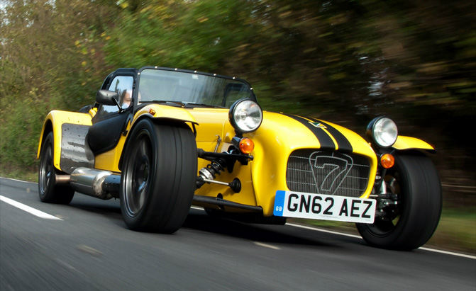Three New Caterham Sevens Coming In 2015 Autoguide News