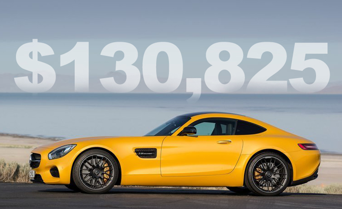 2016 Mercedes Amg Gt S Starts At 130 825