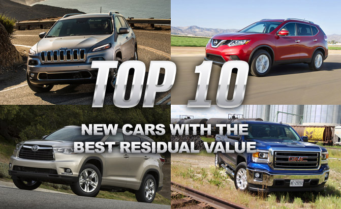 Top 10 2017 Cars With The Best Residual Values