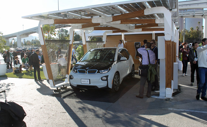 Bmw Unveils New Solar Based Home Charging Station