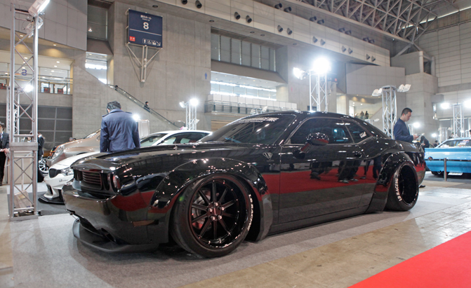 Dodge Challenger Given The Extreme Liberty Walk Tuner Treatment