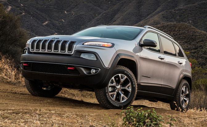 Jeep Cherokee Recalled For Airbag Issue