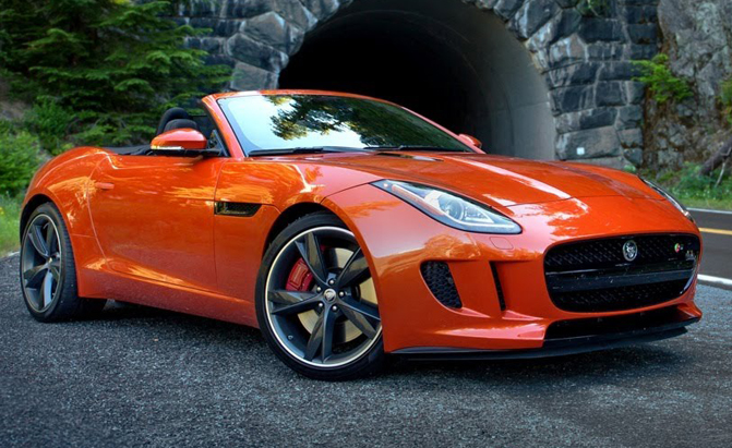 2016 Jaguar F Type Priced With A Third Pedal