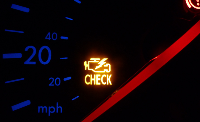 most common reasons your check engine light is on