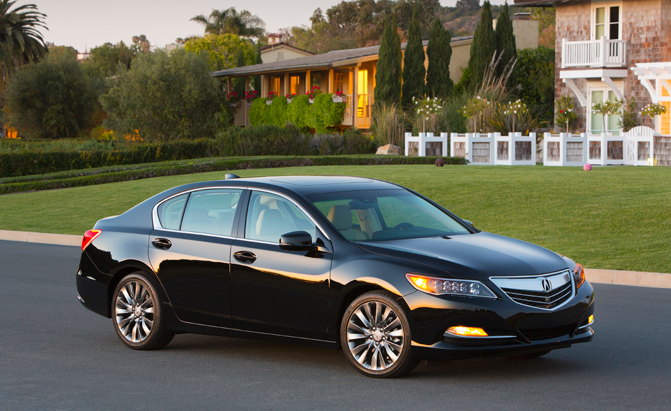 2016 Acura RLX Safety Ratings