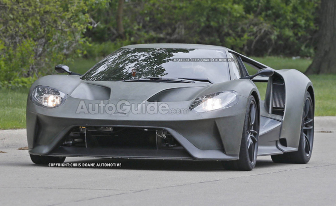 2017 Ford GT Spied
