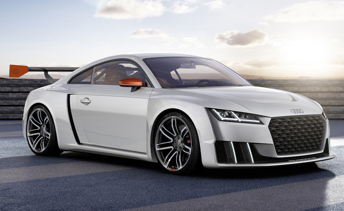 Audi TT Clubsport Turbo Technology Concept