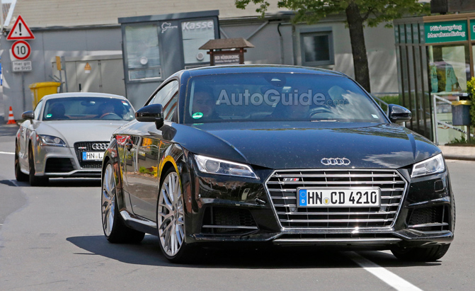 Audi TT RS Prototype Spotted in the Wild