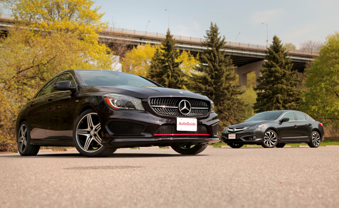2015 Mercedes CLA 250 vs Acura ILX