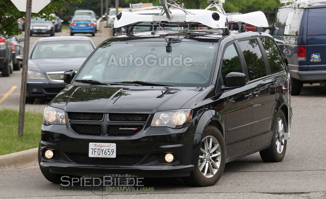 Is this Apple's 'Project Titan' Self Driving Car?