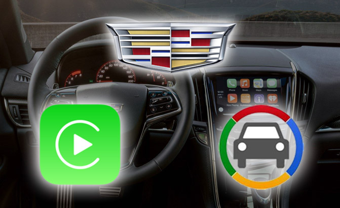 Cadillac Introducing CarPlay, Android Auto for 2016