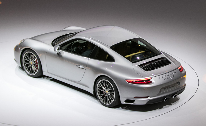 2017 Porsche 911 With New Turbo Makes Debut At Frankfurt Motor Show Autoguide News