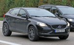2017 Volvo XC40 Compact Crossover Mule Spied Testing