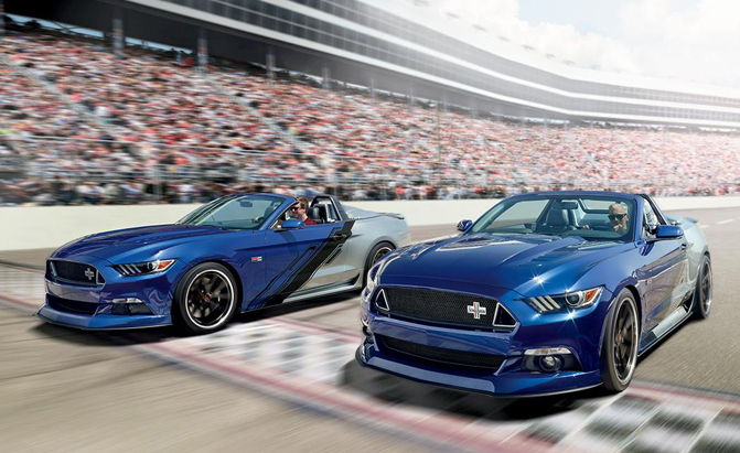 2015 Ford Mustang Convertible Gets Neiman Marcus Limited Edition