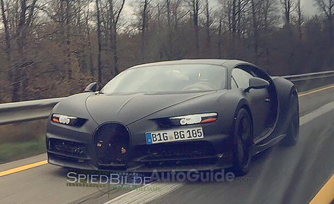 Bugatti Chiron Promises To Be The Worldu0027s Fastest, Most Powerful Car »  AutoGuide.com News