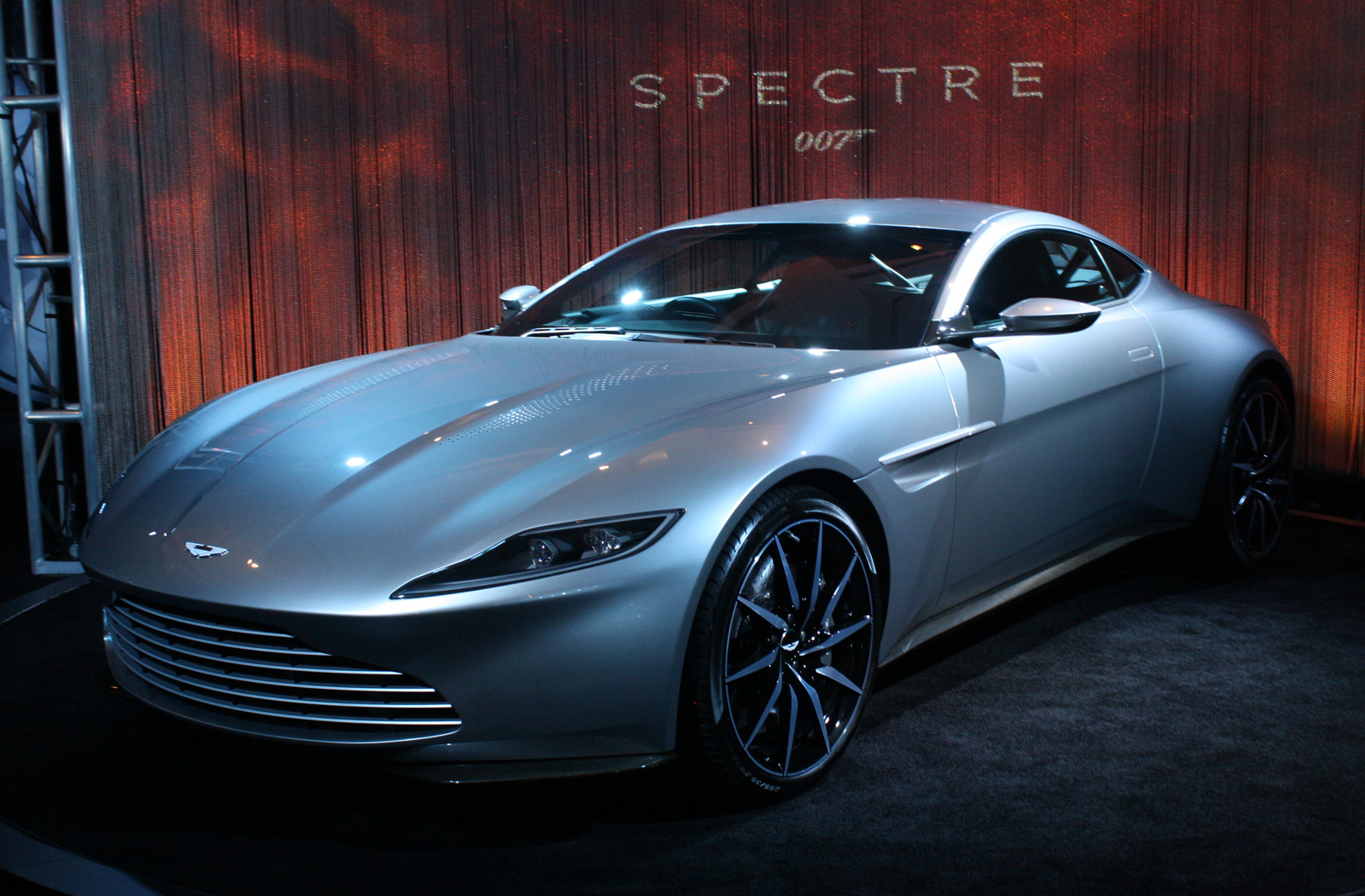 James Bond S Aston Martin Db10 To Be Auctioned For Charity