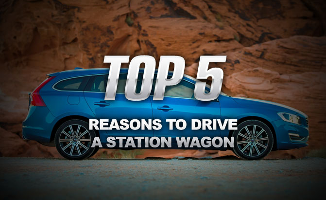 Five Reasons to Drive a Station Wagon