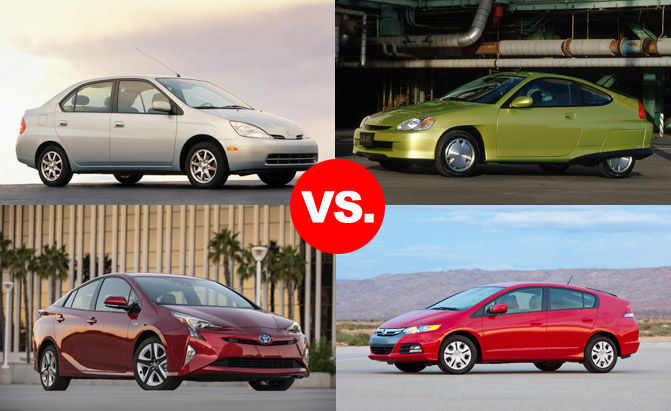 How The Toyota Prius Killed Honda Insight In Hybrid Wars