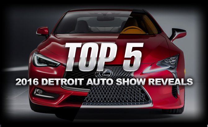 Top Five North American International Auto Show Reveals