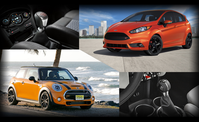 MINI Cooper S or Ford Fiesta ST