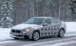 BMW 1 Series Sedan Spied Cold Weather Testing