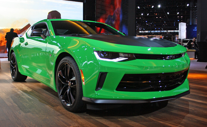 Chevrolet Camaro 1le Returns For 2017 With V6 And V8 Options