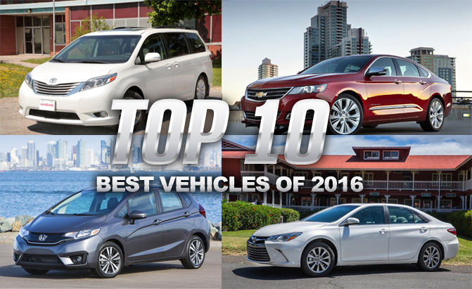 Top 10 Best Vehicles Of 2016 Consumer Reports