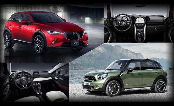 Mazda CX-3 or MINI Countryman