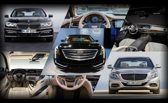 BMW 7 Series, Cadillac CT6 or Mercedes-Benz S-Class