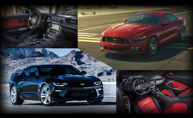 Ford Mustang GT or Chevrolet Camaro SS