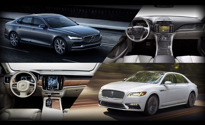 2017 Lincoln Continental or 2017 Volvo S90